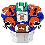 NCAA1-SYU - NCAA Cookie Bouquet - Syracuse University