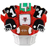 NCAA1-TTU - NCAA Cookie Bouquet - Texas Tech