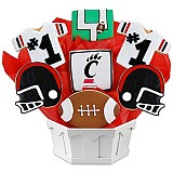 NCAA1-UCIN - NCAA Cookie Bouquet - University of Cincinnati