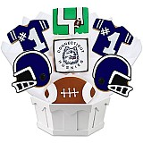 NCAA1-UCONN - NCAA Cookie Bouquet - University of Connecticut