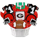 NCAA1-UGA - NCAA Cookie Bouquet - University of Georgia