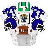 NCAA1-UKEN - NCAA Cookie Bouquet - University of Kentucky
