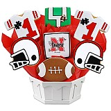 NCAA1-UNEB - NCAA Cookie Bouquet - University of Nebraska