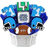 NCAA1-UNC - NCAA Cookie Bouquet - University of North Carolina