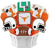 NCAA1-UTX - NCAA Cookie Bouquet - University Of Texas