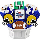 NCAA1-UTUL - NCAA Cookie Bouquet - University of Tulsa