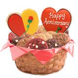 W219 - Happy Anniversary Wishes Basket