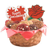 W254 - Anniversary Celebration Basket