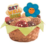 GFW290 - Gluten Free Share a Smile Daisies Basket