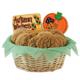 W413 - Autumn Patchwork Basket