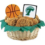 WNCAAB1-TUL - NCAA Basketball Basket - Tulane University