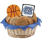 WNCAAB1-UNC - NCAA Basketball Basket - University of North Carolina