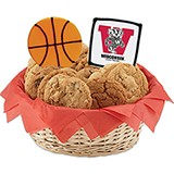 WNCAAB1-UWIS - NCAA Basketball Basket - University of Wisconsin