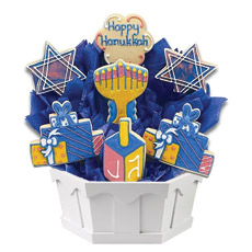 Cookie Bouquet A Hanukkah Festival