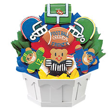 Football Frenzy Cookie Bouquet | Cookies by Design