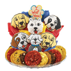 Puppy Love Cookie BouTray� | Cookies by Design