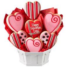 Sweet Valentine Gluten Free Cookie Bouquet