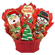 Christmas Sugar Cookies | Christmas Bouquets