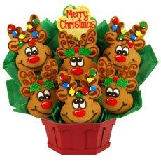 Reindeer Cookies | Reindeer Christmas Cookies