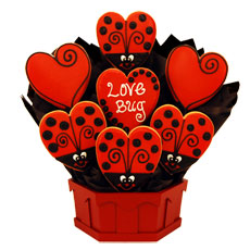Cookie Bouquet Love Bug