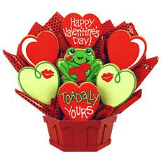 Valentines Gift   Valentine Cookie Delivery
