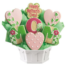 Love for Mom Cookie Bouquet Gift