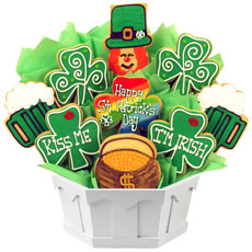 Cookie Bouquet Kiss Me I?m Irish