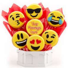 Sweet Emojis bouquet A446