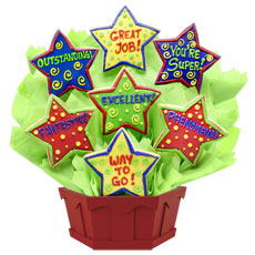 Be a super friend and give your co-worker or staff a phenomenal surprise! This fantastic bouquet is a great way to show your appreciation for a job well done. You can acknowledge someone�s excellent work any day of the week!