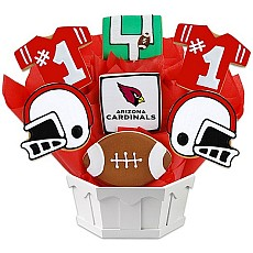 NFL1-ARI - Football Bouquet - Arizona