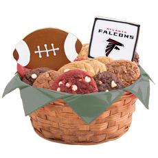 NFL Atlanta Falcons Cookie Basket