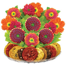 This colorful cookie arrangement is stunning for any occasion.