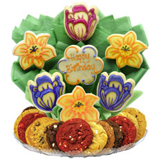 Flower Bouquet of Cookies Delivery