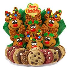 Reindeer Christmas Cookies   Reindeer Cookies