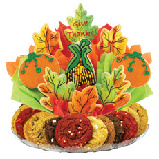 Colors of Autumn Cookie BouTray