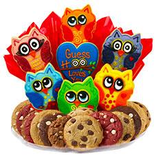 Birthday Hoot BouTray   Owl Sugar Cookies