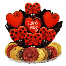 Love Gift   Lady Bug Cookies