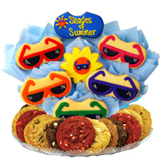 Summer Gift Basket   Summer Cookies