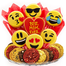 Best. MOM. Ever. Emoji Cookie BouTray™