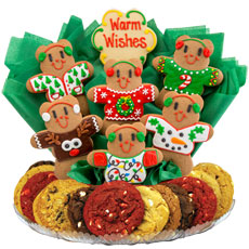 Decorated Christmas Cookies   Christmas Bouquet