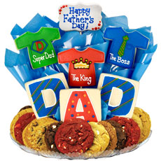 Shirts for Dad Cookie Gift