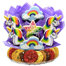 Cookie Bouquet Cookie Delivery Gourmet Gifts Cookies by Design