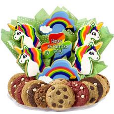 St Patricks Day Gift   Unicorn Cookies
