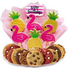 Flamingo & Pineapple Gifts   Summer Cookies