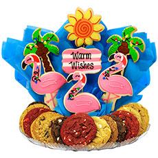 Christmas Flamingos   Holiday Cookies