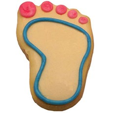 CFG3 - Baby Footprint Cookie Favors