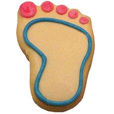 Baby Footprint Cookies