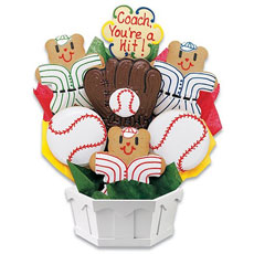 Cookie Bouquet Baseball