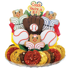 Baseball Cookie BouTray