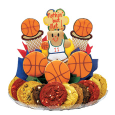 Basketball Cookie BouTray